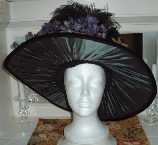 edwardian hat butterick b4697 view d