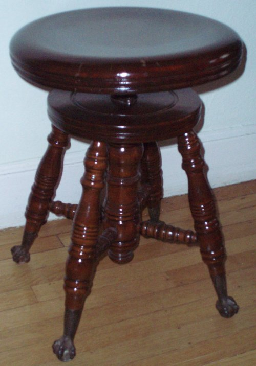 Used Piano Stool Furnishings Piano Stool Antique Piano